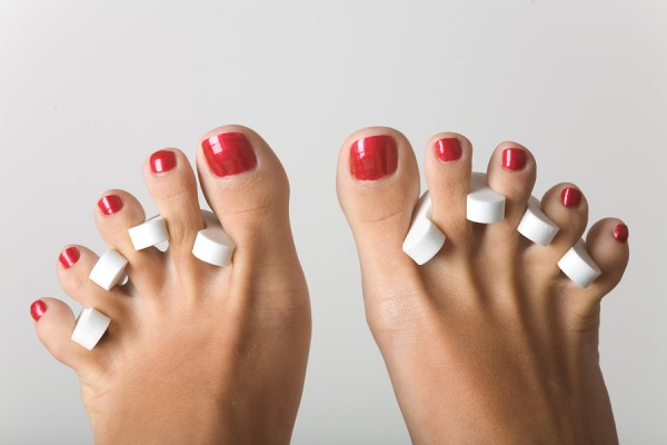 Time to paint those toes!