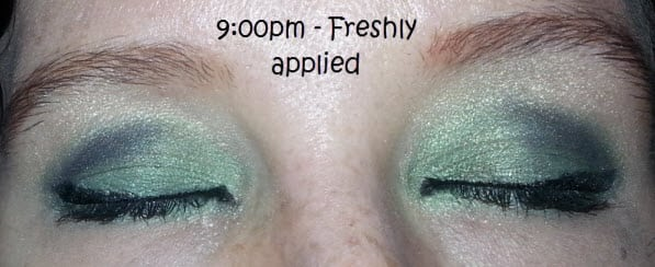 Eyeshadow primer review 9pm