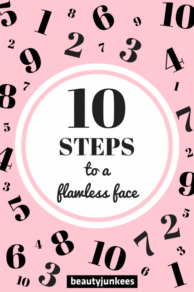 how to get flawless face skin