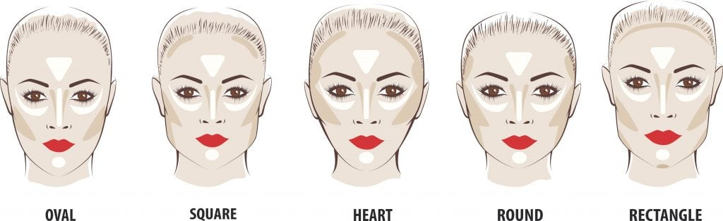 How To Contour For Your Face Shape And Highlight Bronzer
