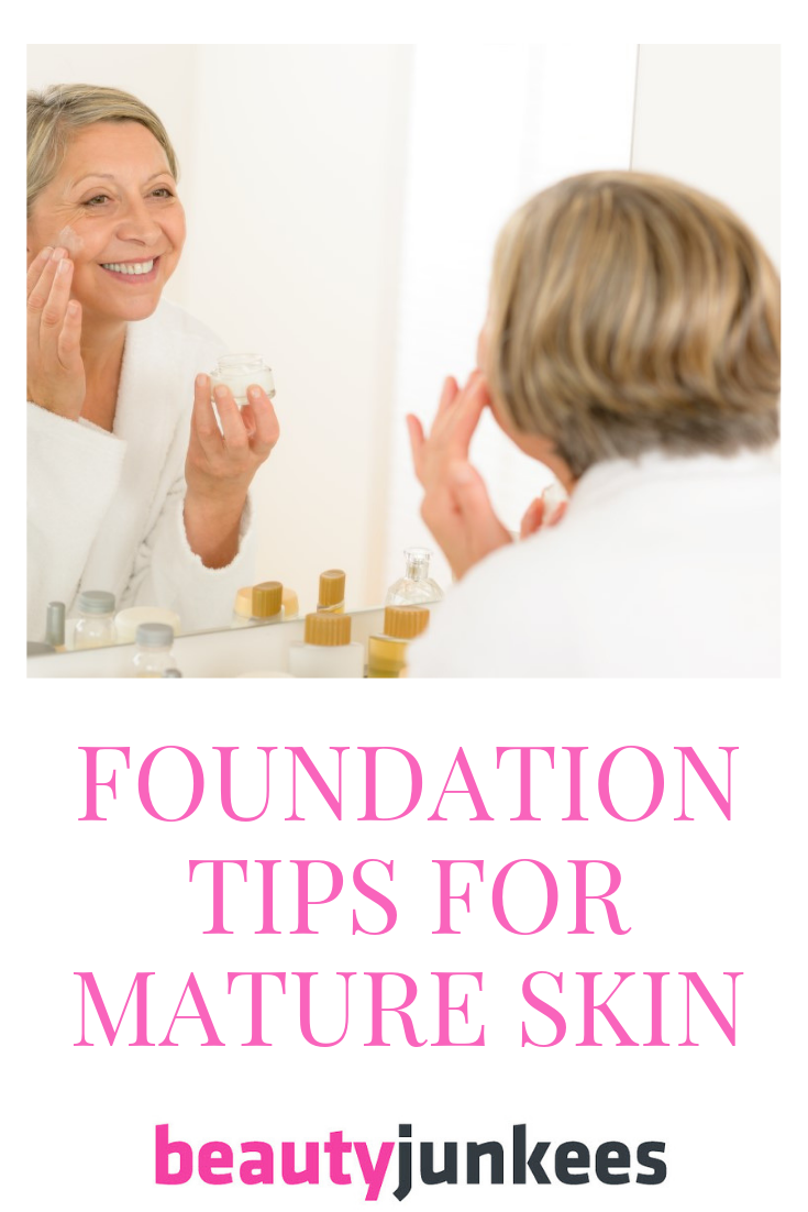 Who Wants to Look Younger? Foundation Tips for Mature Skin